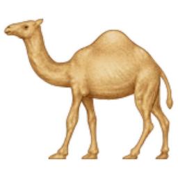 Dromedary Camel Emoji U 1f42a