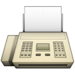 apple fax machine