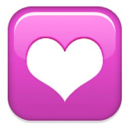 emoji heart icon - photo #7