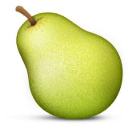Pear Emoji U 1f350