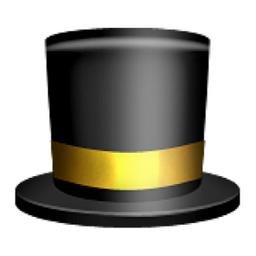 Top Hat Emoji (U+1F3A9...