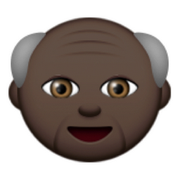 emoji old man my site daottk