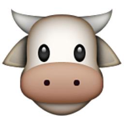 Cow Face Emoji U 1f42e U E52b