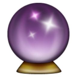 Crystal ball emoji u 1f52e u e23e