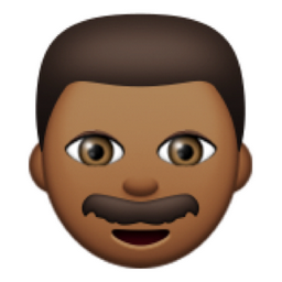 Deeper Brown Man Emoji U 1f468 U 1f3fe