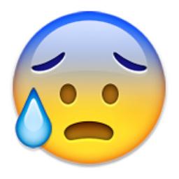 Image result for scared emoji