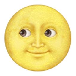 Resultado de imagen de yellow moon whatsapp