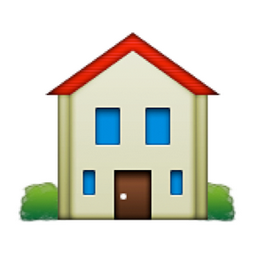 House building emoji u 1f3e0 u e036 House building app