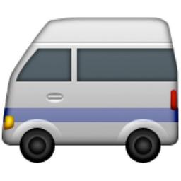 Minibus Emoji U 1f690