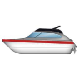 Motor Boat Emoji (U+1F6E5)