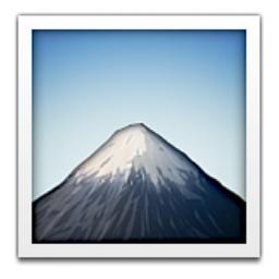 Mount Fuji Emoji U 1f5fb U E03b