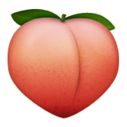 Image result for peach emoji ios