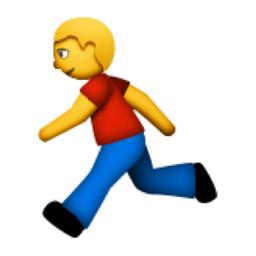 Image result for running emoji