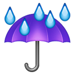 Image result for umbrella with rain