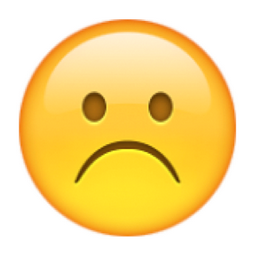 ☹️ White Frowning Face Emoji U 2639 U Fe0f
