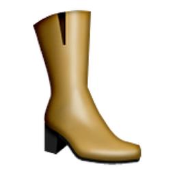 Womans Boots Emoji U 1f462 U E31b