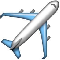 Airplane Emoji U 2708 U E01d U 2708 U Fe0f