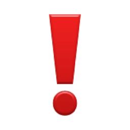 �� heavy exclamation mark symbol emoji u2757ue021u