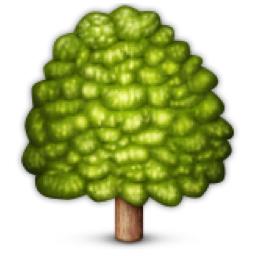 Deciduous Tree Emoji U 1f333
