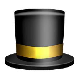 top hat emoji u 1f3a9 u e503