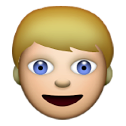 Person With Blond Hair Emoji U 1f471 U E515
