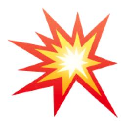 Collision Symbol Emoji U 1f4a5