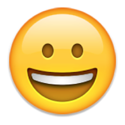 Grinning Face Emoji (U+1F600)
