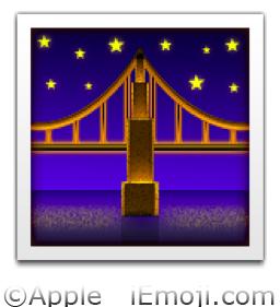 0219 pngNight Clock Flag Tower Emoji