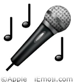 Microphone Emoji U 1f3a4 U E03c